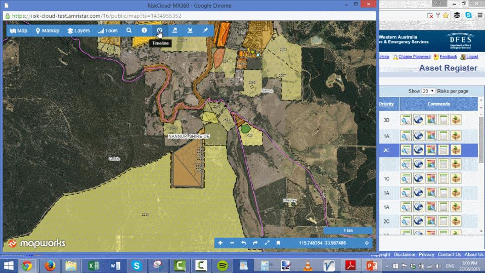 Bushfire Risk Management System